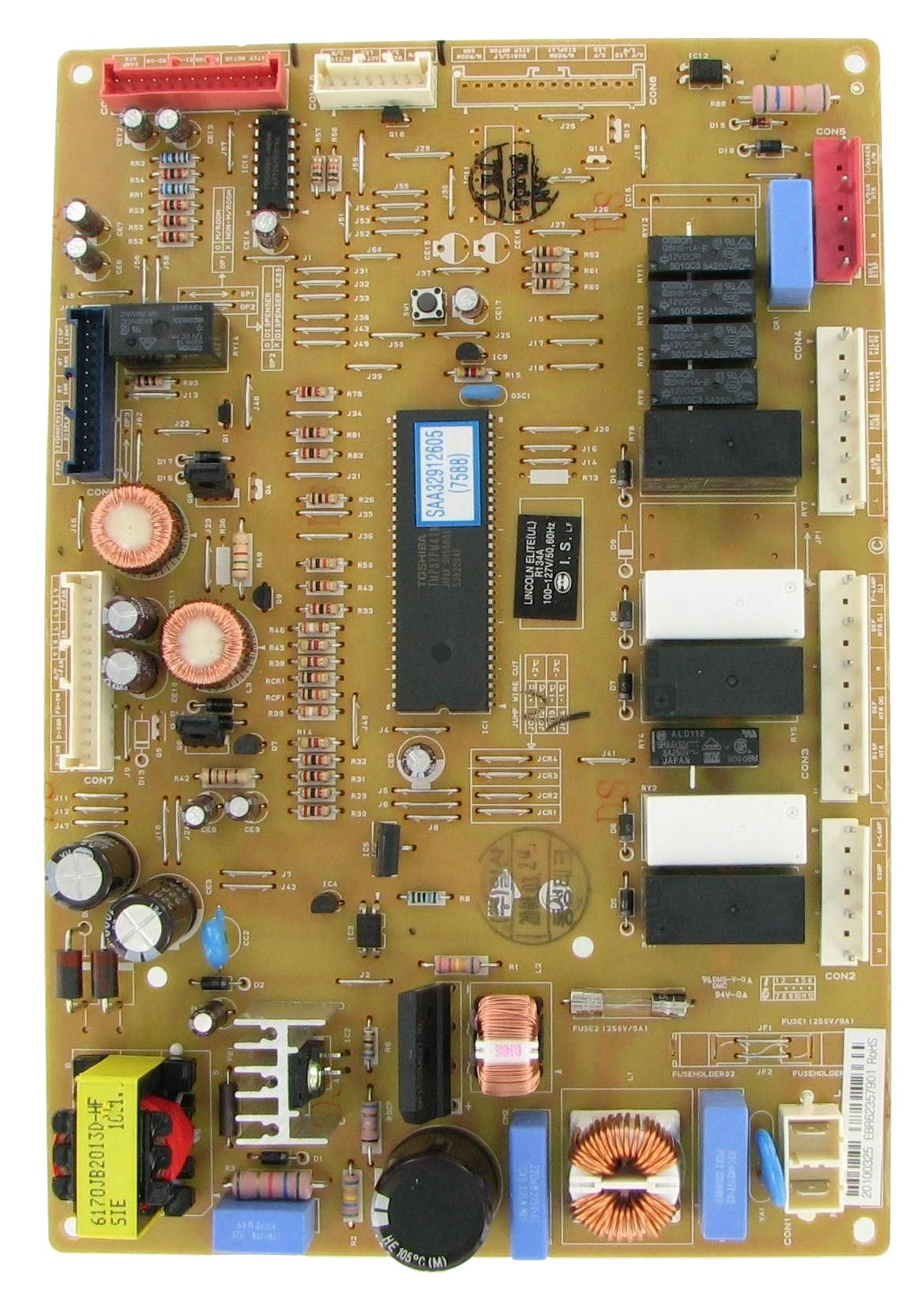 Lg Ebr62357901 Refrigeration Electronic Control Board Refrigerator Lg Boards Broken Appliance