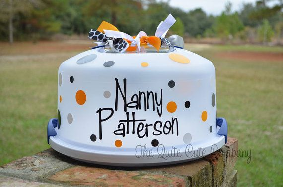 Make your own Personalized Cake Plate Name by TheQuiteCuteCompany & Make your own Personalized Cake Plate Name by TheQuiteCuteCompany ...