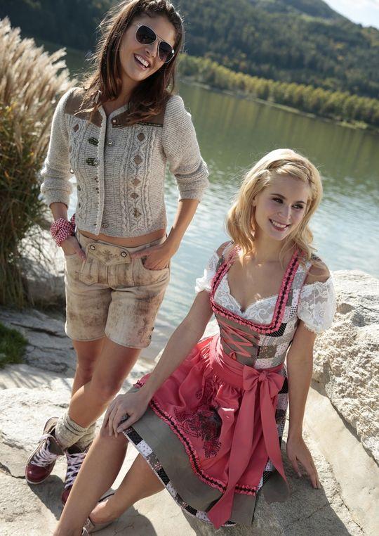 Lederhose Damen  Wiesn  Oktoberfest  Trachtenmode   HeidisTrachten ... 4745b3e1f6