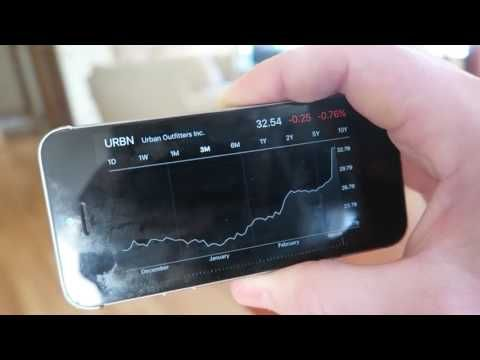 Win the Stock Market From Your iPhone Stocks App (SIMPLE