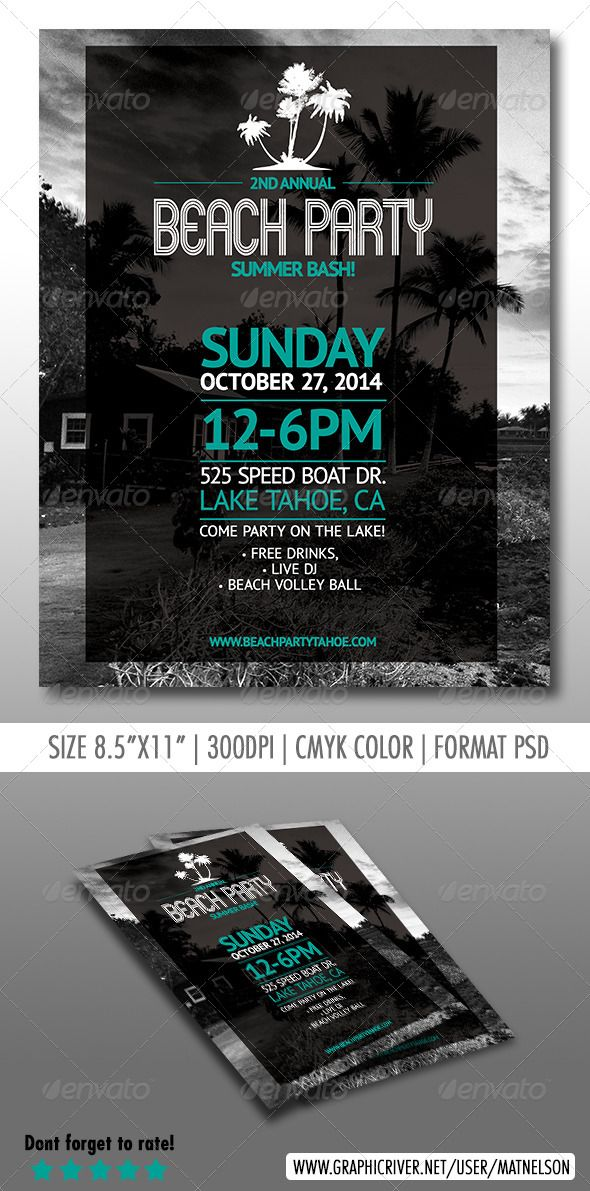 simple event poster layout by harminder286 no pictures please