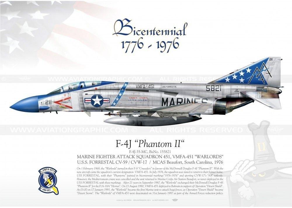 F4J Phantom-II-VMFA-451