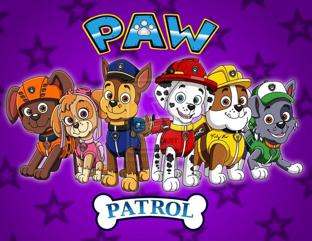 paw patrol  happy birthday abigail  paw patrol