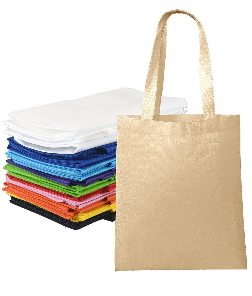 12847ad269 ... promotional Non-Woven Totes now with the newest color options! #totebag  #canvas #cotton #jute #burlap #drawstring #fabric #wholesale #economical # cheap ...