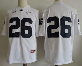 $21 Men's Penn State Nittany Lions #26 Saquon Barkley no name Nike ...