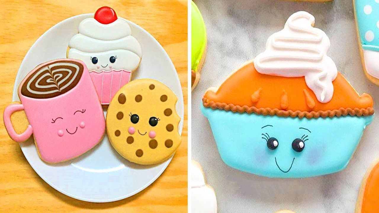 Best Sugar Cookies Tasty 🍪 Amazing Cookies Art Decorating Food In