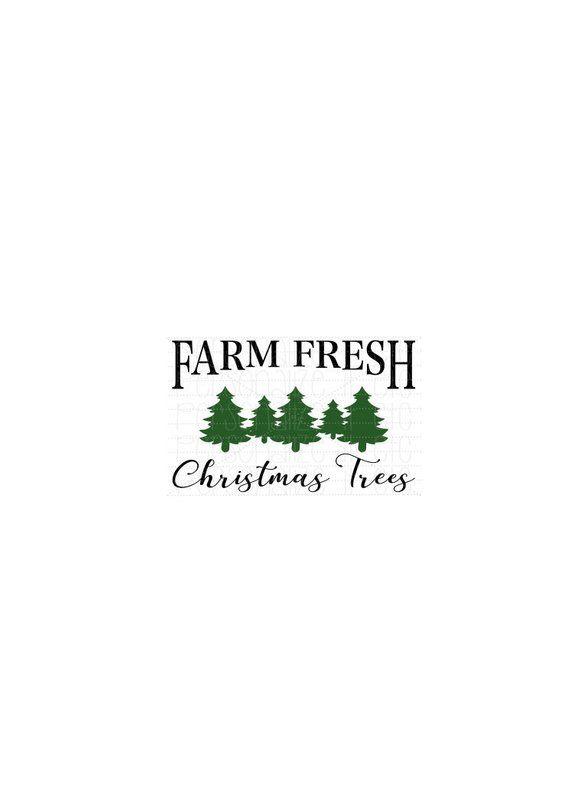 Farm Fresh Christmas Trees Svg.Farm Fresh Christmas Trees Svg File Christmas Instant