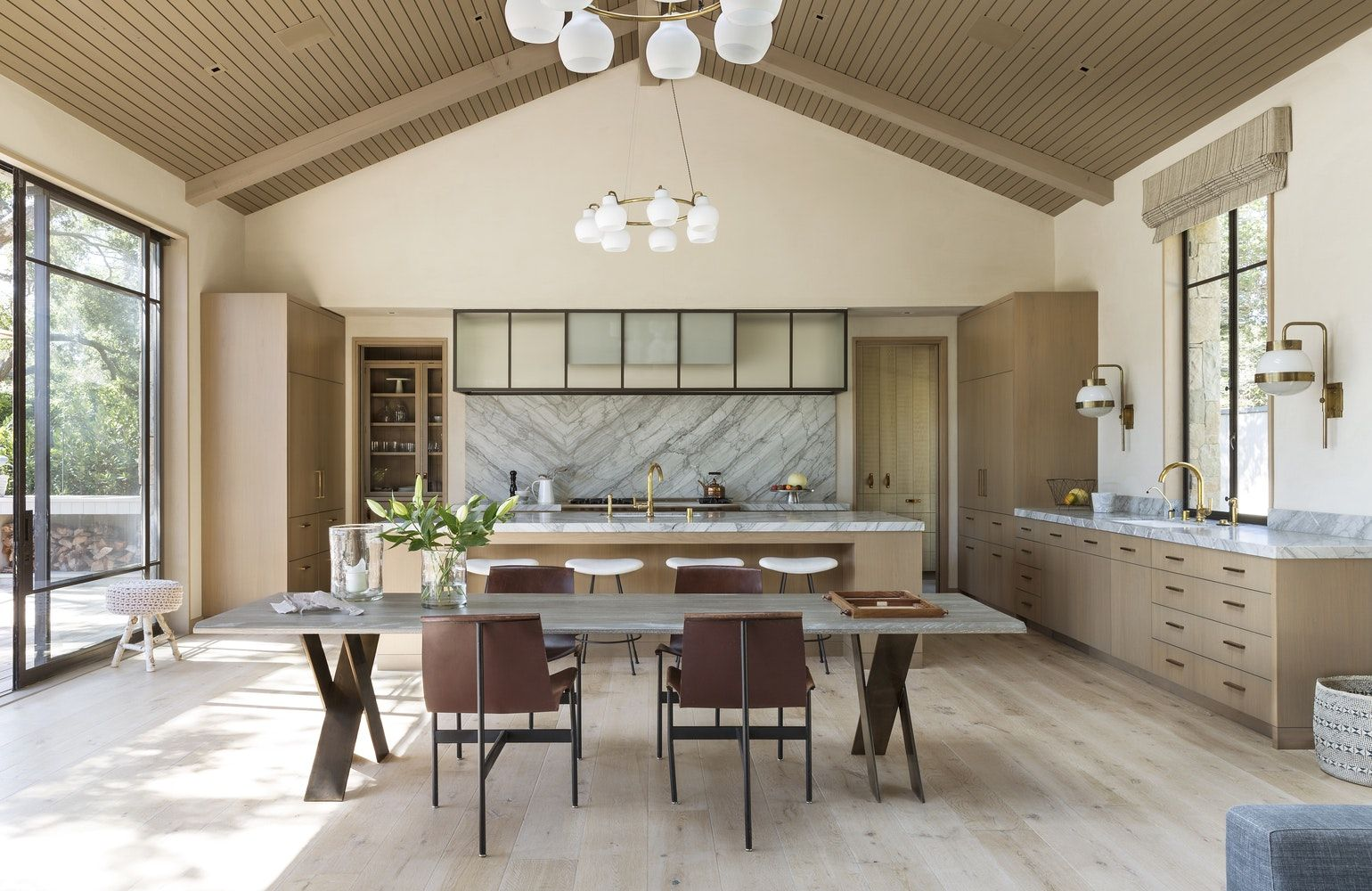 Designing for Kitchens with High Ceilings (With images)  Kitchen
