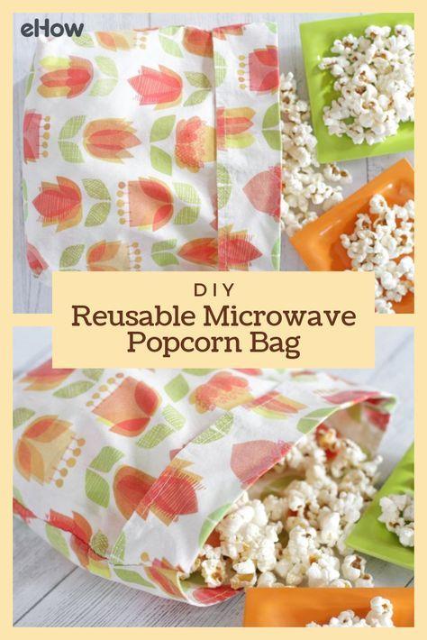 DIY Reusable Microwave Popcorn Bag | eHow.com