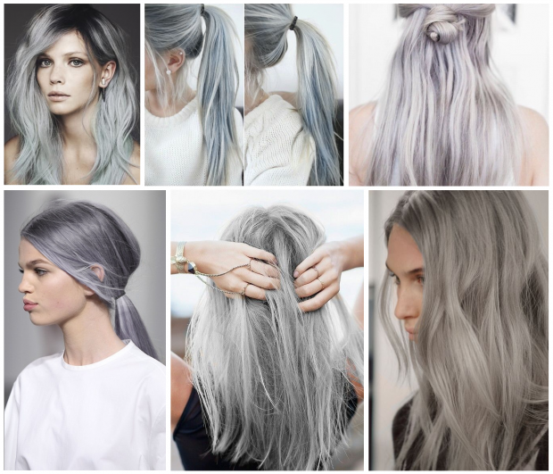 grey hair options - Google Search | going gray | Pinterest | Gray ...
