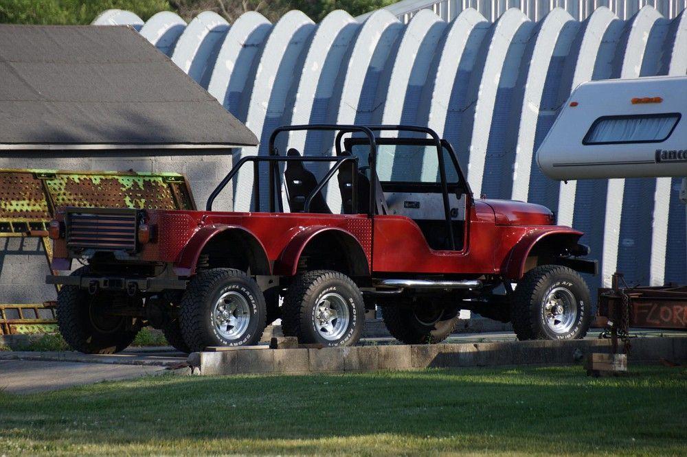 Crazy Jeep In Footville Jeep Cj Jeep Cj5 Jeep