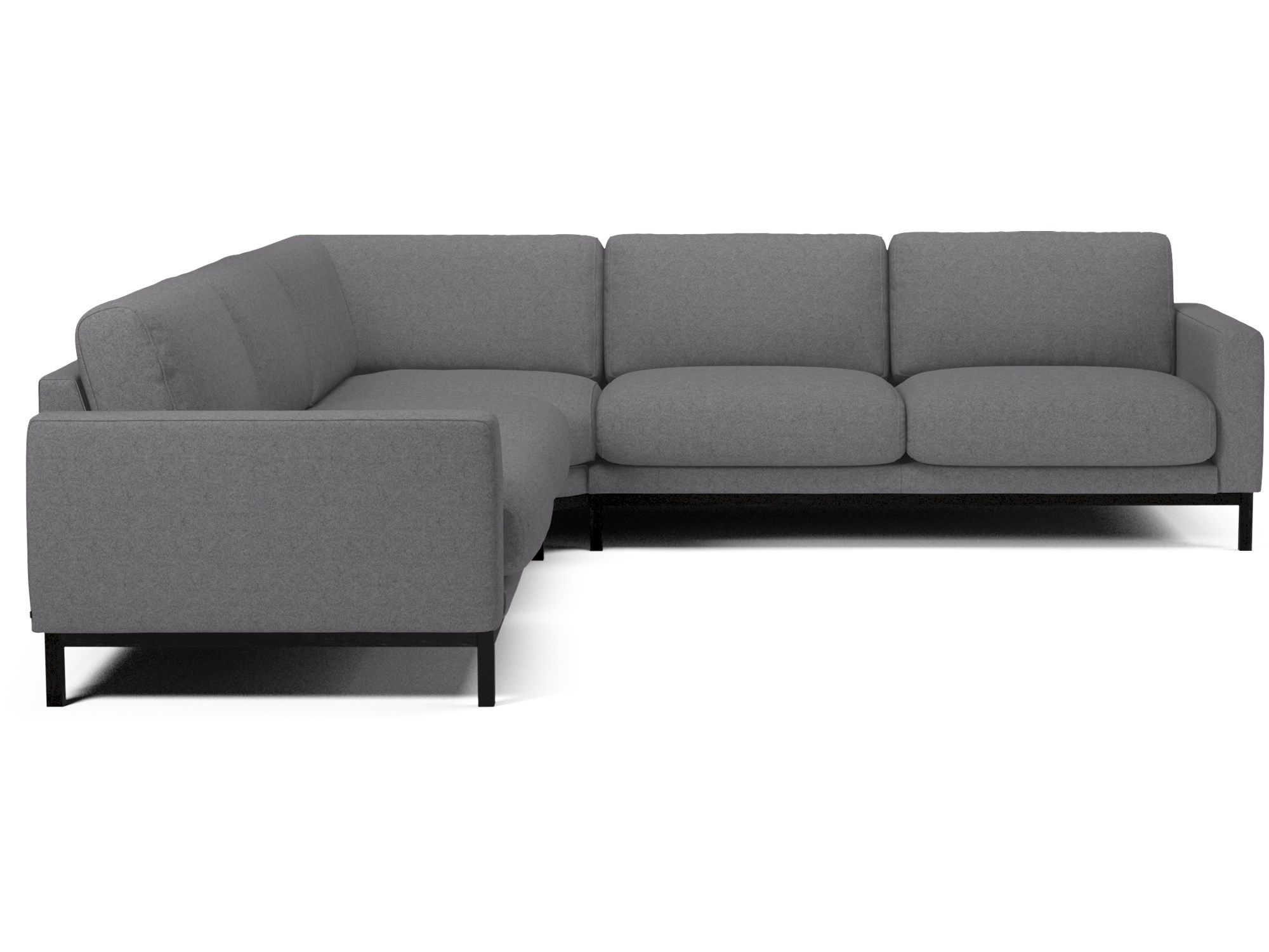 Smart Ecksofa Anna Milner Left Corner Storage Sofa Bed With Memory Foam Mattress