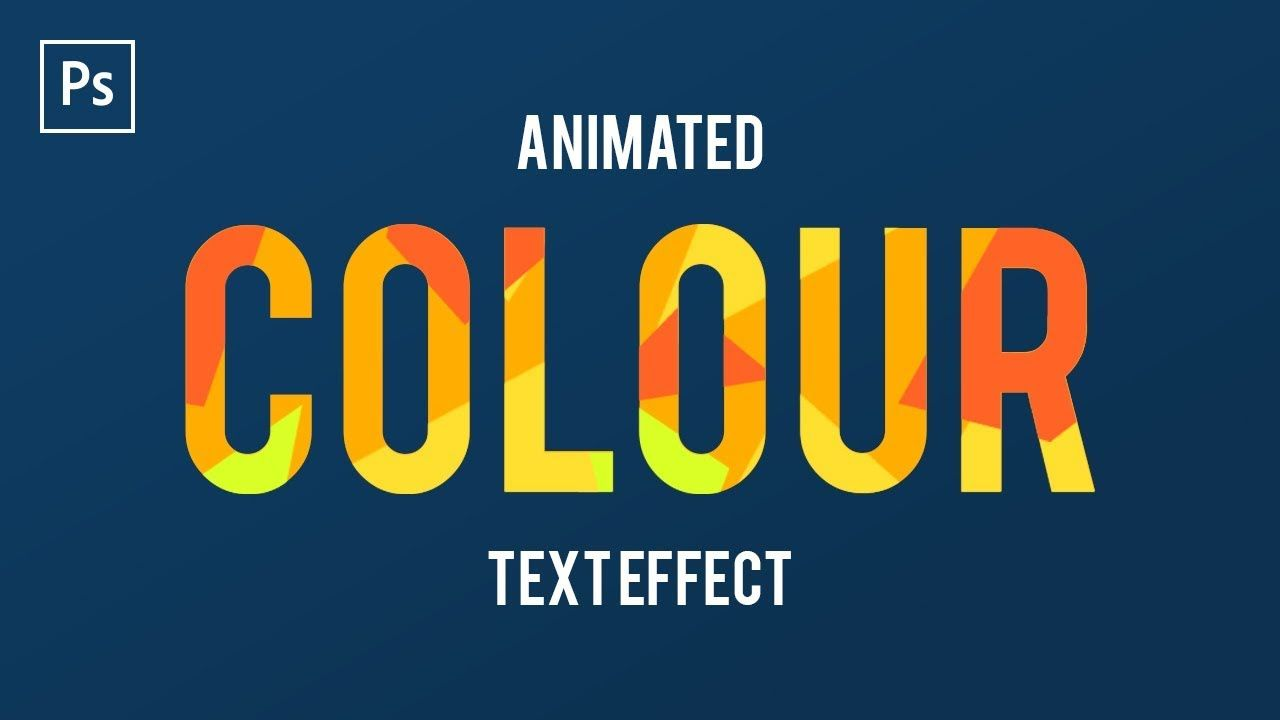 How To Animate Text In Adobe Photoshop Cc Frame Animation Text Animation Frame By Frame Animation Photoshop