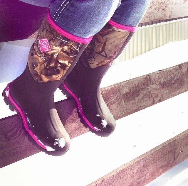 Womens Pink Camo Muck Boots