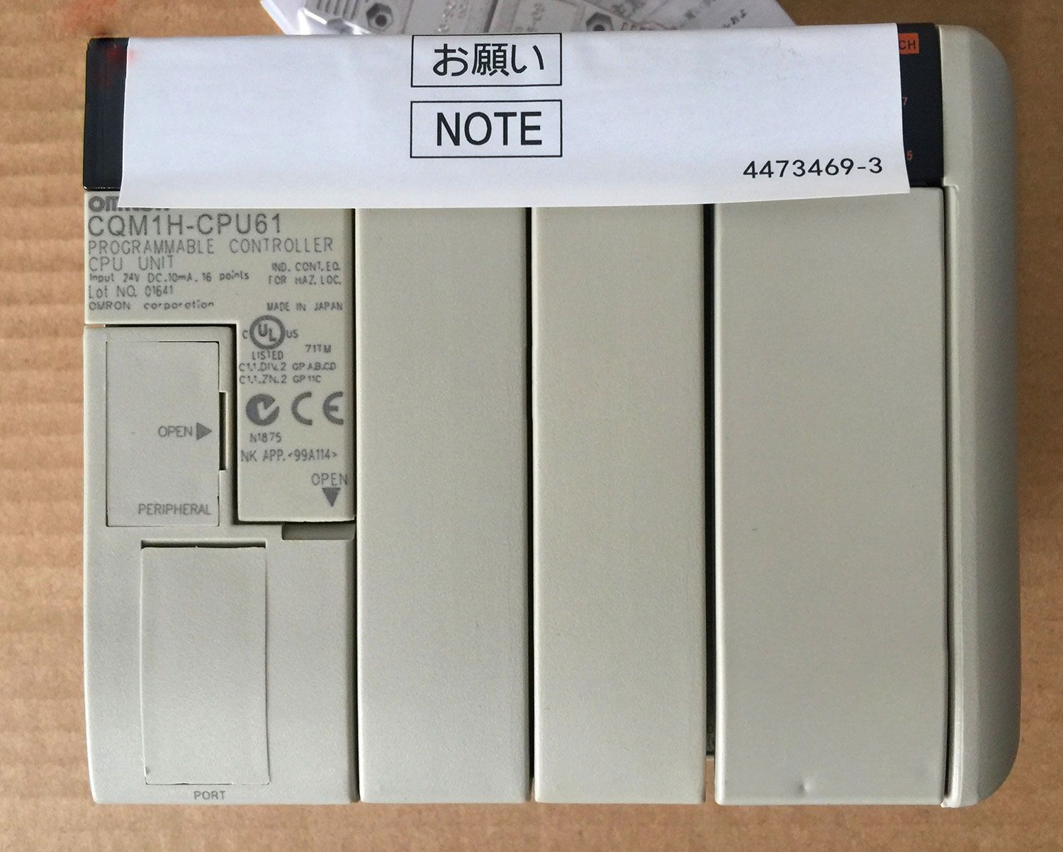 New 1Pcs Omron CJ1W-OC201 CJ1WOC201 Output Unit th