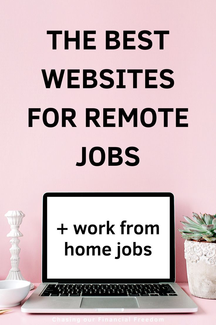 The Best 17 Websites For Remote Jobs in 2020 Remote jobs