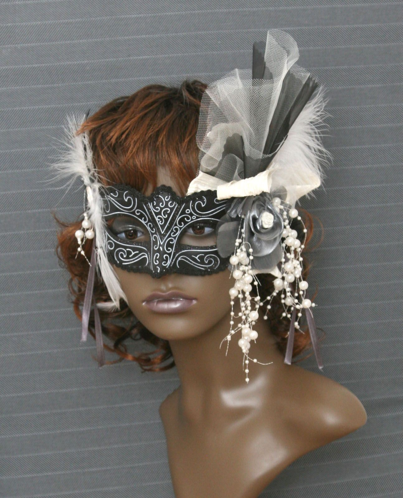 Bespoke masquerade mask by www.maisondecantern.co.uk