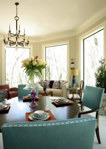 Christy Dillard Collection by Lorts eclectic dining room