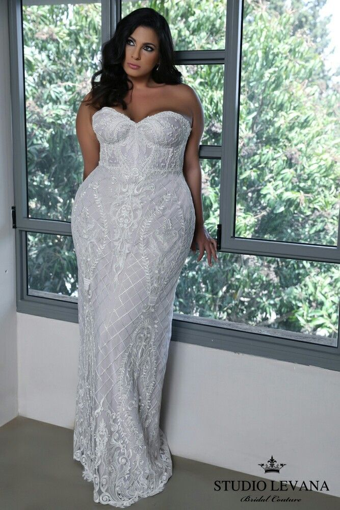 01625af27ae Strapless corset lace mermaid wedding gown. Madelene. Studio Levana ...
