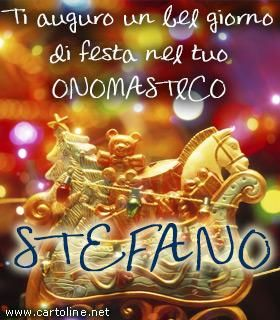 Stefano Buon Onomastico Augurii Pinterest Happy Birthday