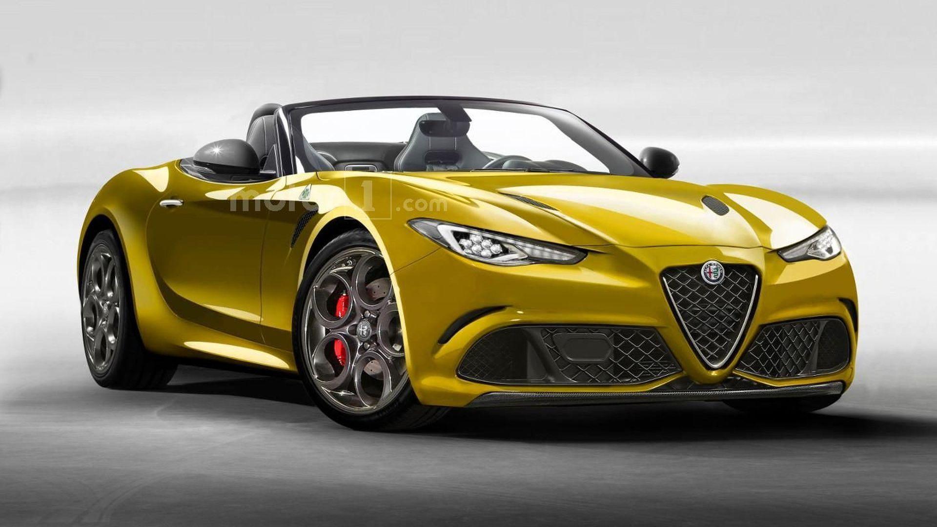 2020 Alfa Romeo Duetto Spy Shoot
