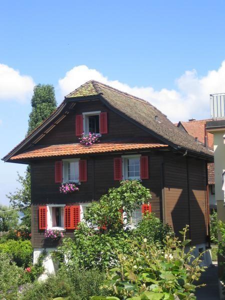 Typical swiss home switzerland pinterest switzerland for Swiss homes