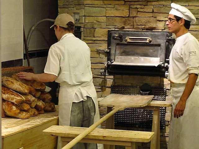 Eataly Ny Stone Hearth Baked Bread Bread Baking Bakery Bread Bread