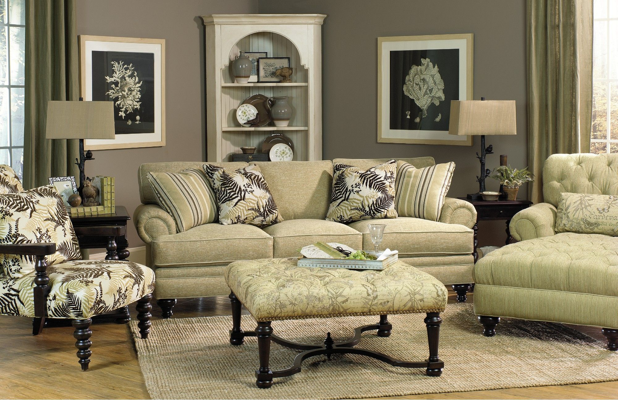Paula deen furniture collection paula deen sugar hill for Family lounge furniture