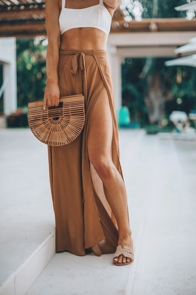 Vacation style cover-up pants cella jane.   beach outfits women vacation casual cover up