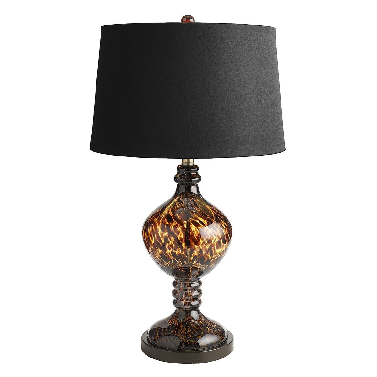 Tortoise Glass Lamp Pier 1 Imports House Decorating Table Lamp