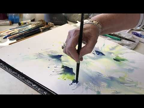 Watercolor Demo With Rae Andrews Youtube Tuto Aquarelle