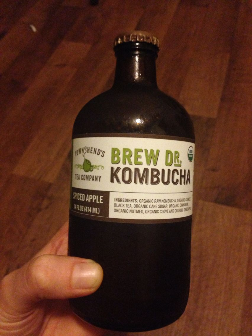 Brew Dr. Kombucha in spiced apple