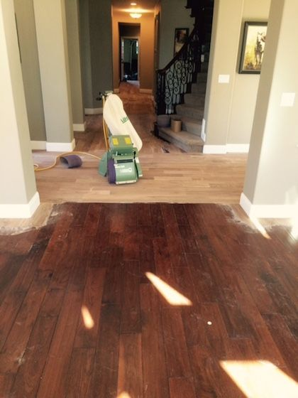 Refinishing Engineered Floors With Aluminum Oxide Finish Part 1 Hardwood Magazine