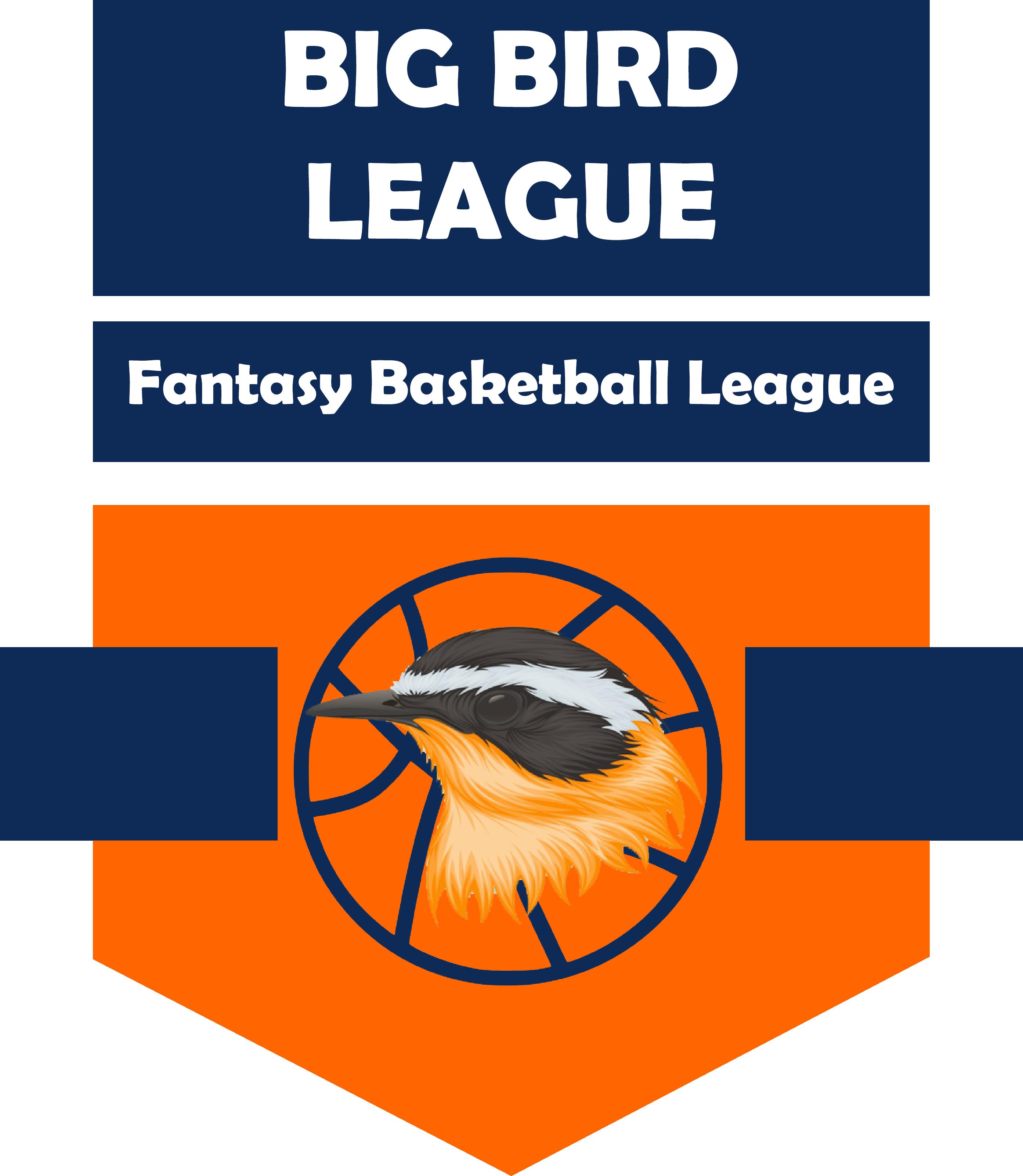 Big Bird League Logo Fantasy Basketball Big Bird Basketball Leagues