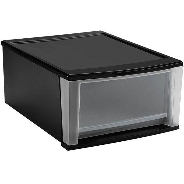 Stacking Clear Storage Drawers Black Plastic Storage Bins Stackable Plastic Storage Bins Plastic Storage Drawers