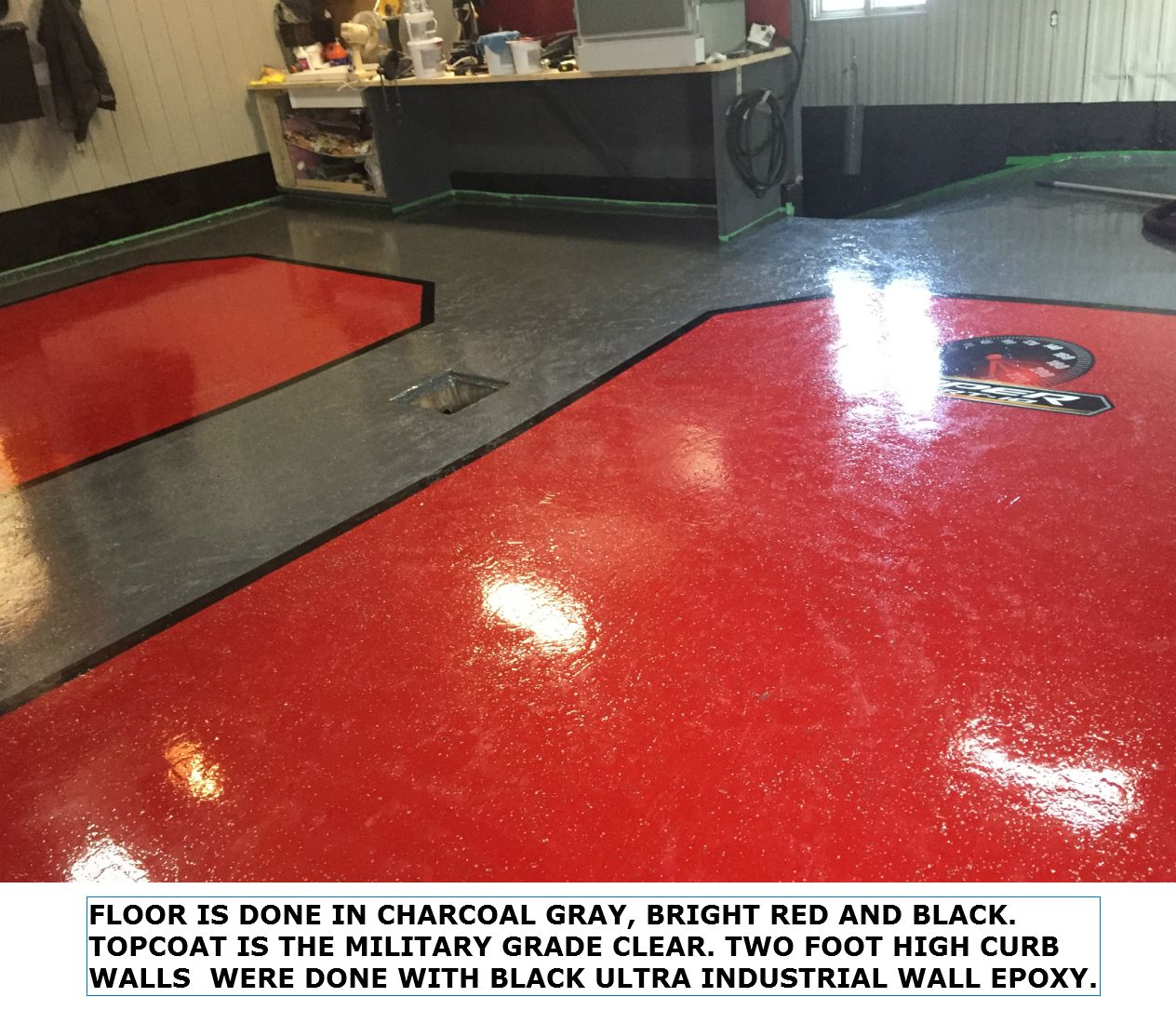 Epoxy Flooring For Garage Commercial