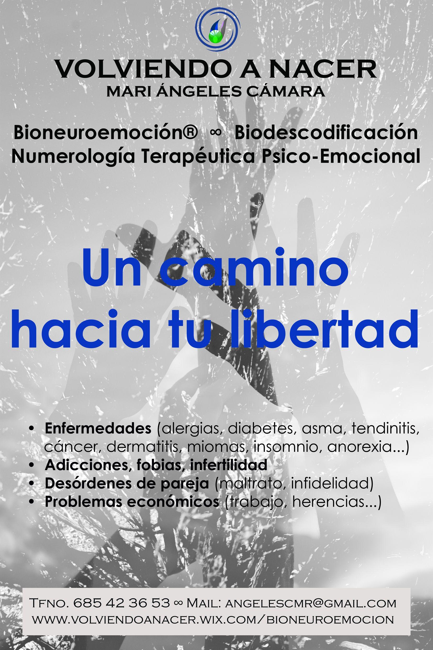 Volviendo a Nacer Mª Ángeles Cámara BioNeuroEmoción® Alcobendas Madrid