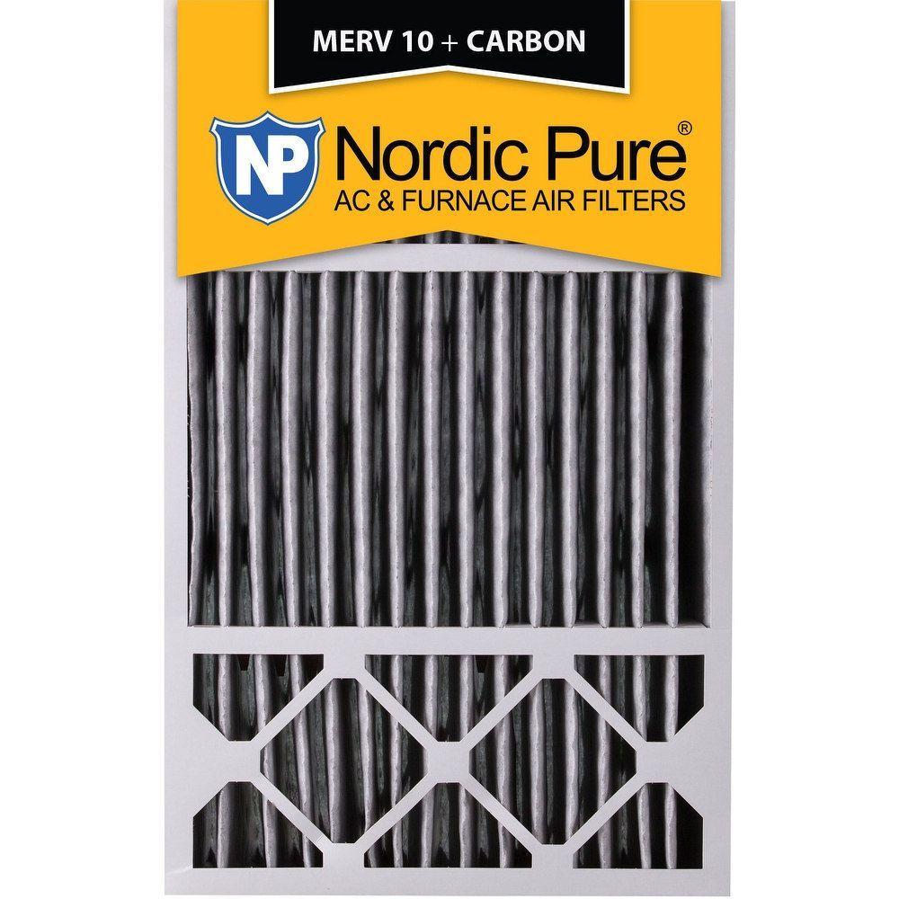 Nordic Pure 16x25x5 Honeywell Replacement Pleated MERV 10
