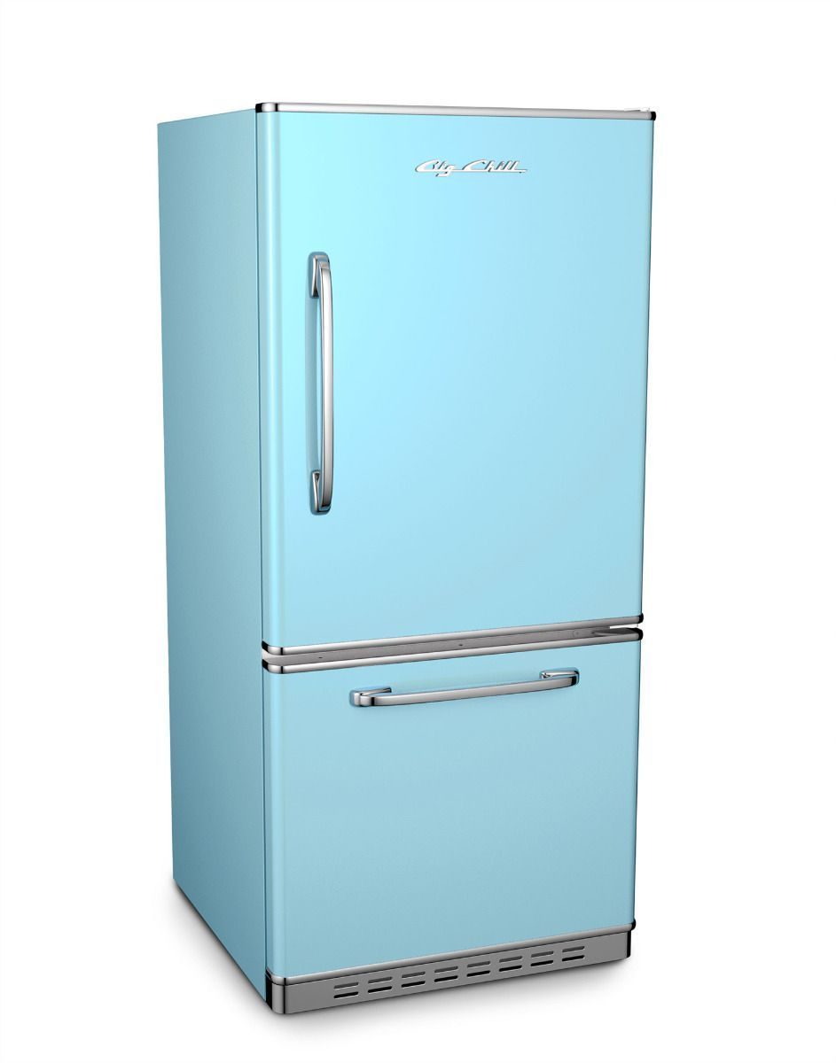 Retropolitan Fridge Retro Refrigerator
