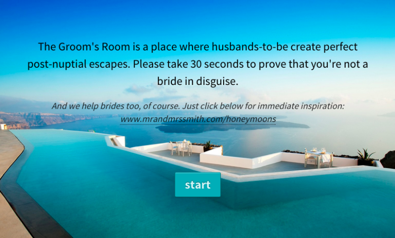 Grooms Only Introducing The Groom S Room By Honeymoon Experts