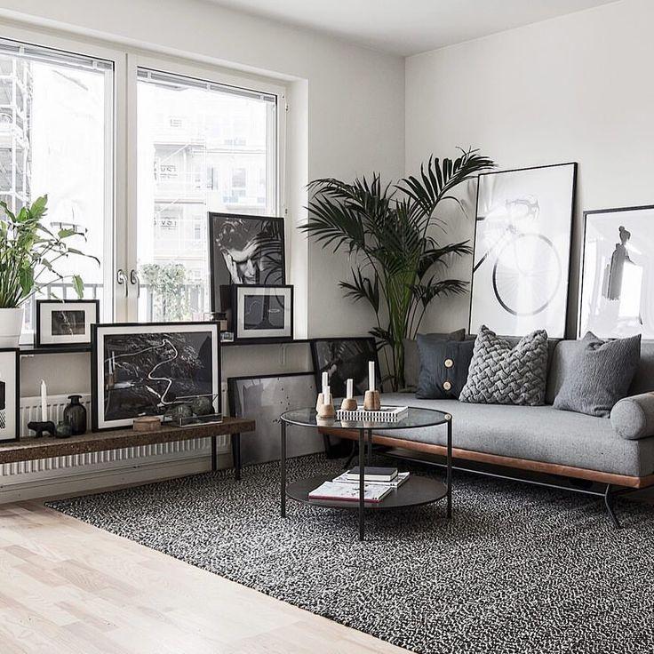 """Photo of Scandinavian Homes on Instagram: """"Kammakargatan 50 38 kvm, 2 rok Styling @scandinavianhomes  Foto @fotografengustav  För Anna Johansson @fastighetsbyran_stockholm"""""""