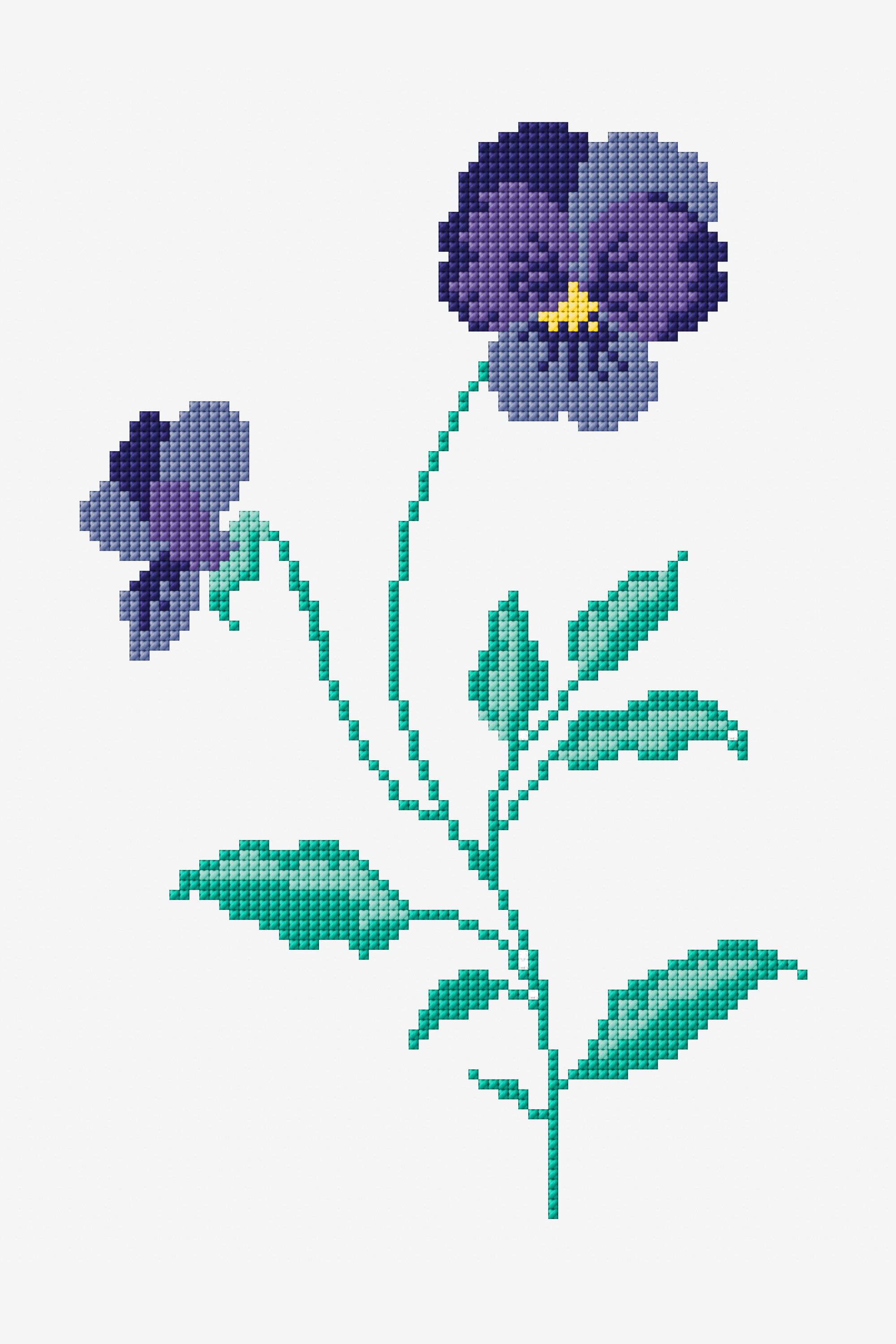 FREE PATTERNS Pansies www.dmc.com