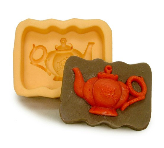 c7c1ccb17452 Teapot Flexible Silicone Mold/Mould For Handmade Soap by HappyDIY, $10.99