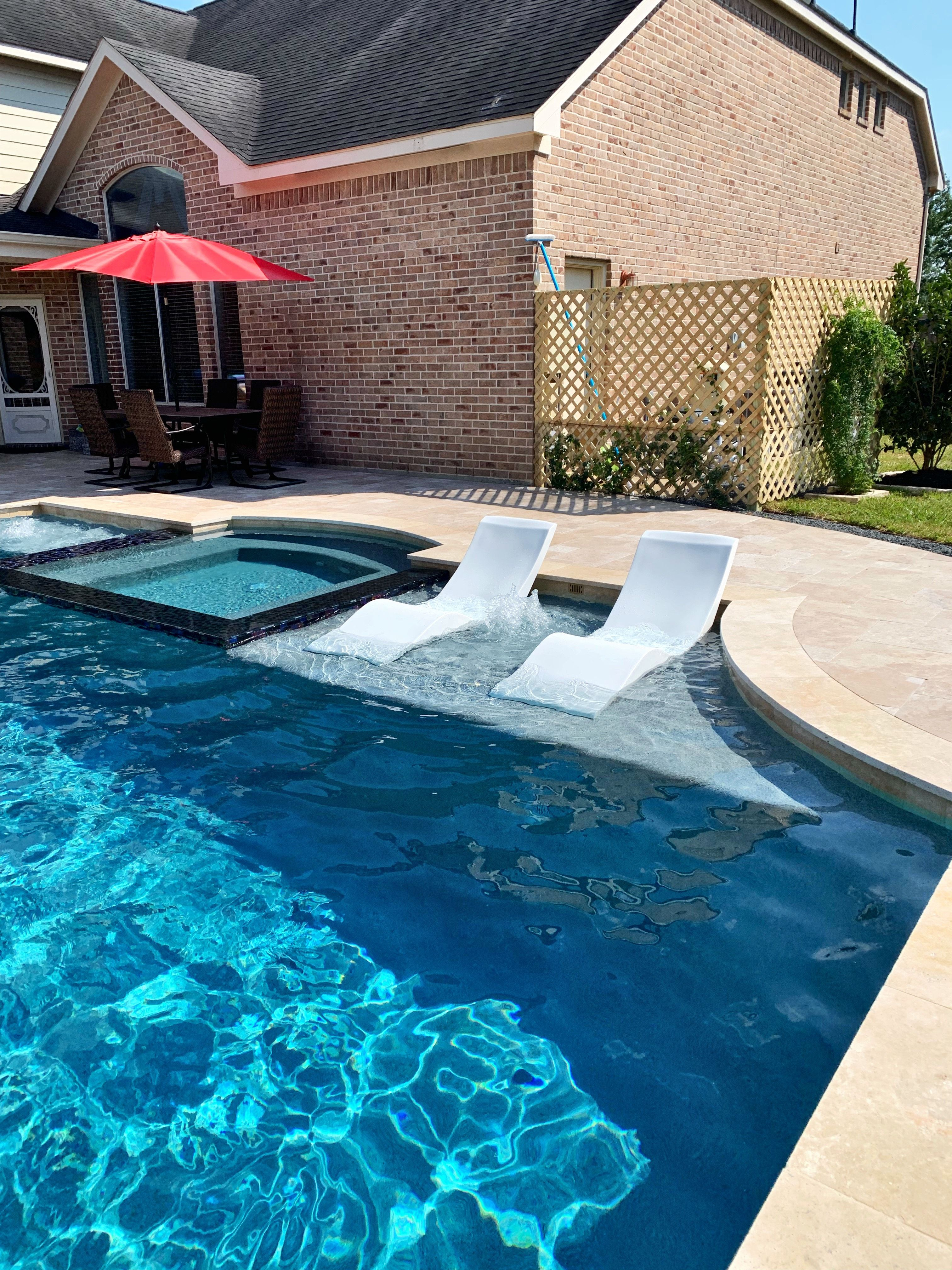 Outdoor Natural Gas Fire Pit Table, In Pool Chaise Lounge Chairs In Texas Pool Chaise Pool Chaise Lounge Rectangle Pool