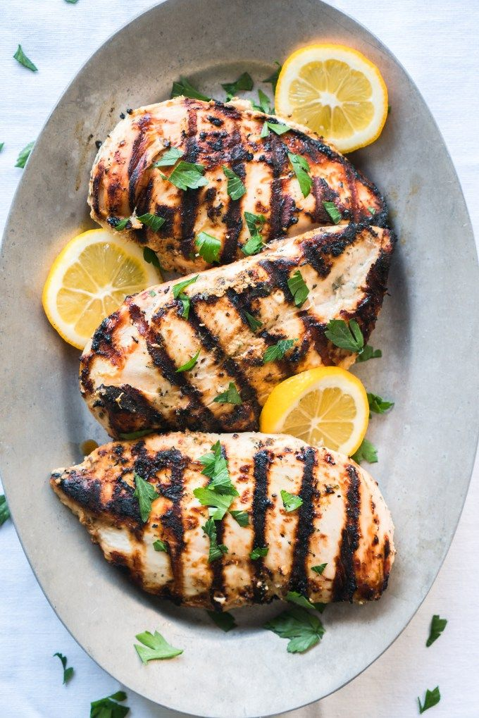 Yogurt Marinated Greek Chicken Recipe Greek chicken