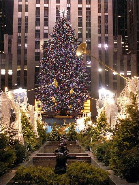 Christmas in NYC. This is so much