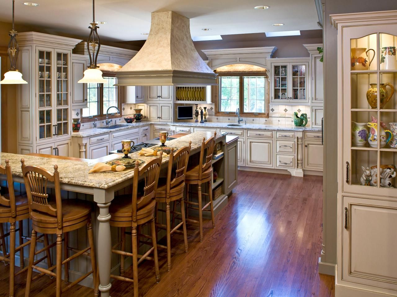 Kitchen Ideas Design Styles And Layout Options  Hgtv Kitchens Endearing L Shaped Country Kitchen Designs Design Decoration