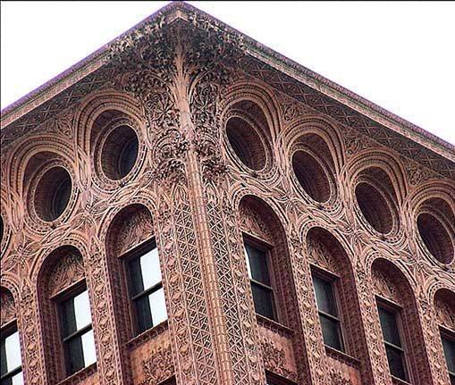 Louis Sullivan. Guaranty/Prudential Building, Buffalo, NY