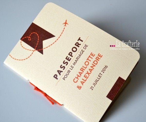 faire part passeport mila nouveau visuel la crafterie pinterest inspiration. Black Bedroom Furniture Sets. Home Design Ideas