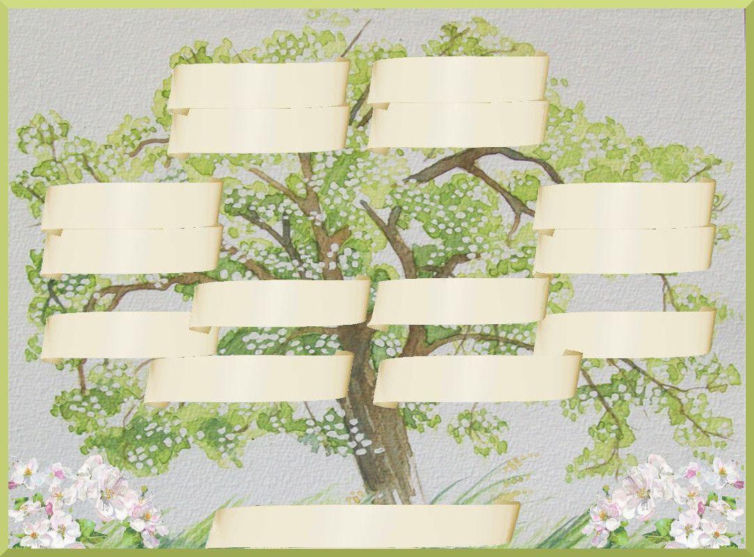 Imprimer gratuitement votre arbre g n alogique a faire avec les enfants pinterest - Imprimer arbre genealogique ...